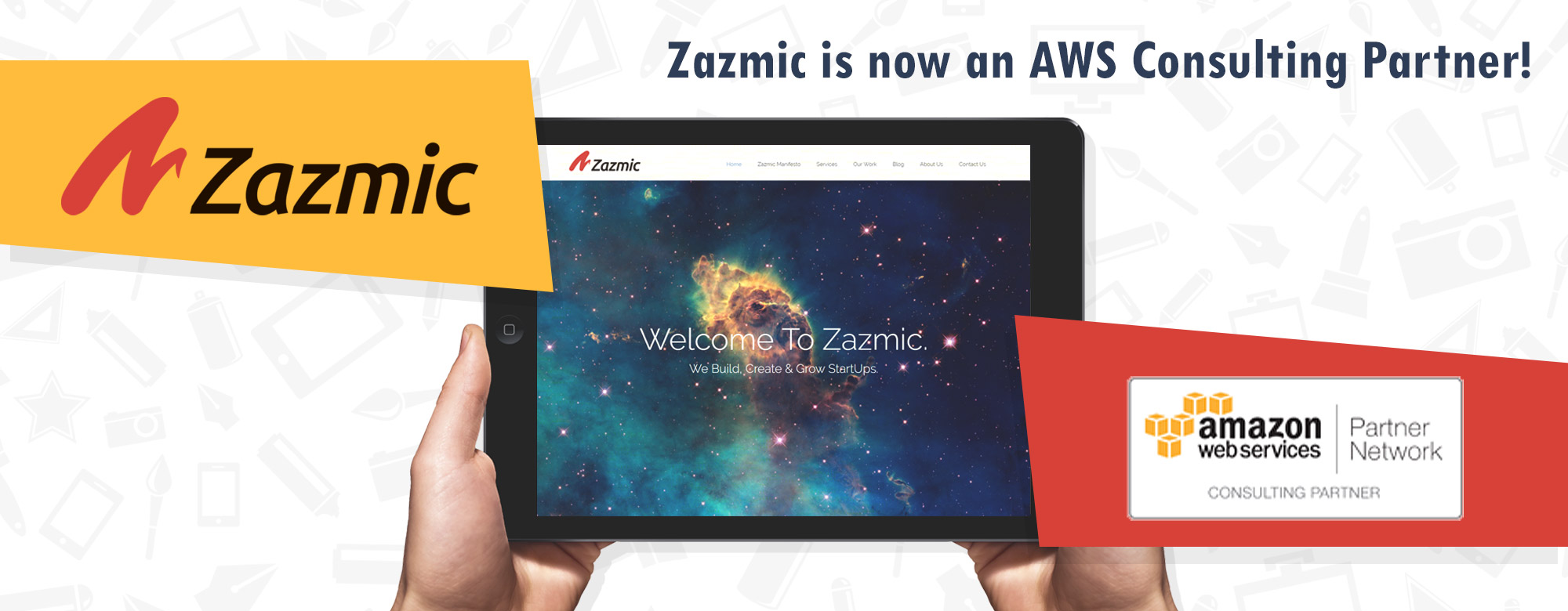 We are proud to announce that Zazmic is now an AWS CONSULTING PARTNER!