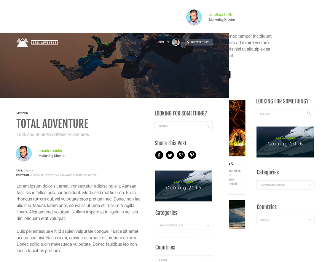total adventure blog
